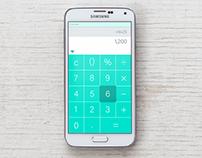 Daily ui- day 4 Calculator