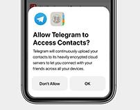 iOS Alert Redesign