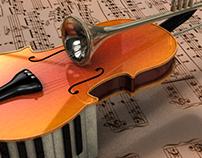 "Instrumento ""X"" 3D"