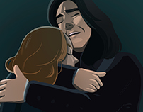 R.I.P. Alan Rickman illustration:(