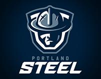 Portland Steel Identity Concept