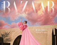 Harper´s Bazaar Arabia January 2021 Cover Shot