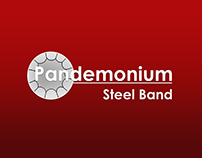 Logo and Website for a Community Band