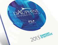 Université Dauphine - Rapport d'activité 2013