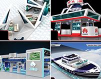 3D Exhibit & Events Desings