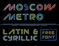 Moscow Metro (Free Font)