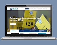 Estonian School Student Councils' Union Webpage