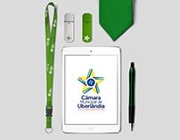 Câmara Municipal de Uberlândia • Nova Logo