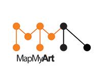 MapMyArt Visual Identity - Logo