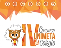 Afiches concurso UNIMETA al colegio 2016