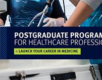 Imperial Postgrad Healthcare marketing campaign
