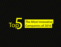 Top 5 The Most Innovative Companies 2016