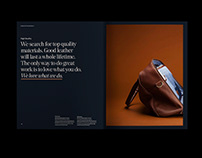 INMO Leather Bags | Visual Identity