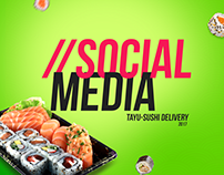 Social Media | Tayu - Sushi Delivery