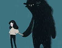 Depression illustration