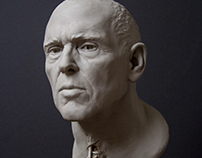 Portrait Sculpture of Robert
