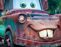 Photoshoot with Tow Mater