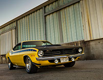 AAR CUDA Tribute Car Photo & Video Shoot