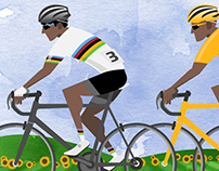 Tour de France Jersey Guide Infographic