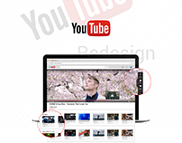 Youtube Redesign UI/ interaction design