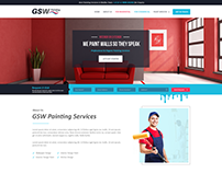 GSW Paint- PSD Web Design