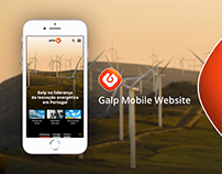 Galp Mobile Website