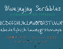 Bluejayjay Scribbles: Font Creation Experiment
