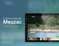 Ville de Meuzac - Redesign