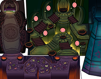 Club Penguin: Ancient Fruit Volcano Temple 2012