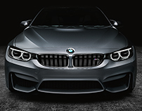BMW M4-Vray-Personal Practice