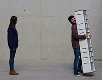 Kanso, a new concept of wardrobe