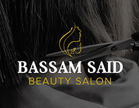 Bassam Said Beauty Salon Logo