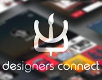 """""""Designers Connect"""" App concept"""