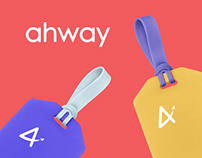 Ahway – traveling app, naming and branding