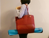DESIGN | Yoga Double-Tote Bag