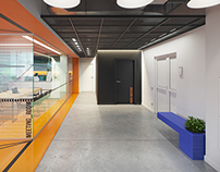 "Office design for IT group ""Ruby Garage"""