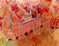 Watercolor illustrations