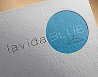 lavidaBlue Clothing Logo and Branding