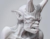 Satan-daily zbrush sketch