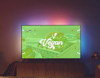 Pizza Fan Vegan TV Commercial