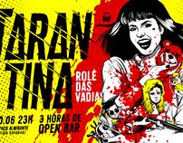 TARANTINA: Rolê das Vadias