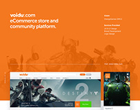 Voidu eCommerce Web and Branding Design