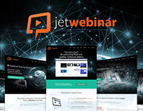 JetWebinar website design