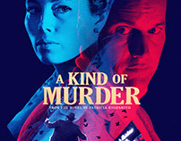 A Kind of Murder Theatrical Key Art Design