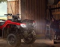 Honda ATV TRX campaign