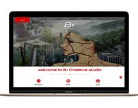 b + Web Design Template