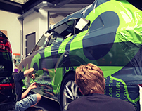 Dimension Data - Tour de France | Audi Q7 Vehicle Wrap