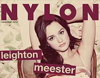 Nylon Magazine Tablet Design