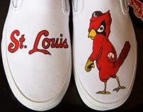 St. Louis Cardinals Vans Shoes