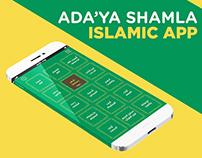 Adaa'a Shamla Islamic IOS App